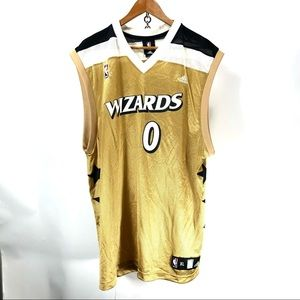 Gilbert Arenas vintage wizards adidas jersey XL